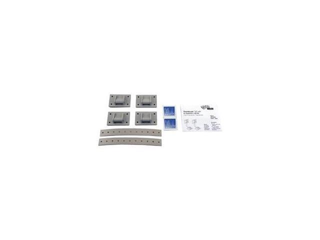 Equipment Fastener, 200 Lbs, Gray