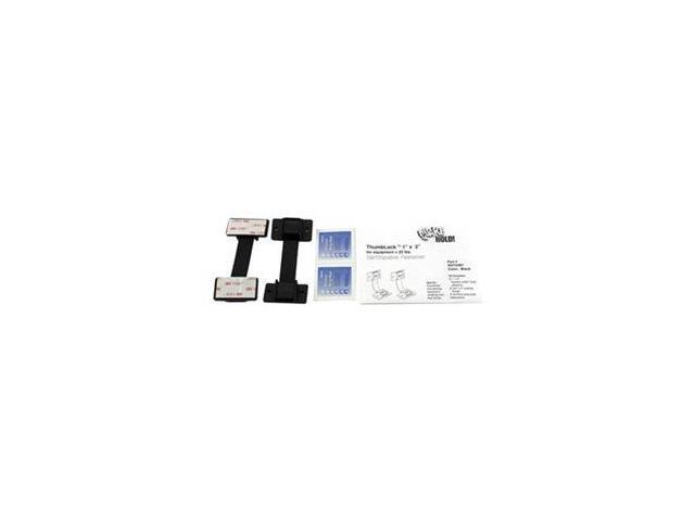 Equipment Fastener, 25 Lbs, Black