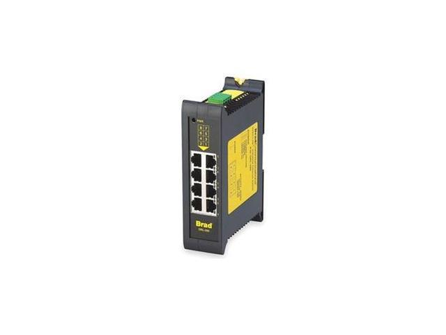 Ethernet Switch, Unmanaged, 8 Ports, RJ45