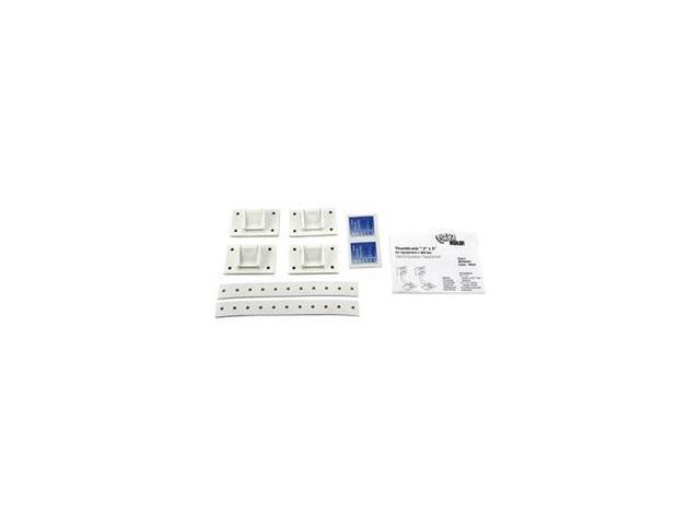 Equipment Fastener, 200 Lbs, White