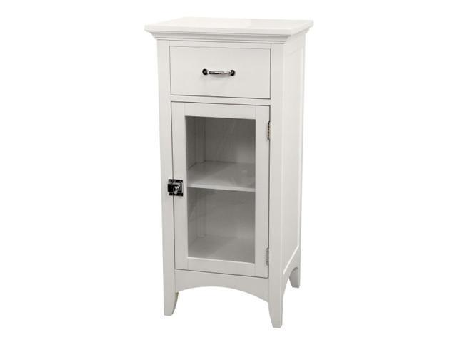 Madison Avenue Floor Cabinet with 1 Door and 1 Drawer - by Elite Home Fashions