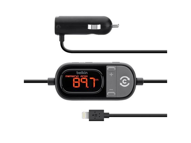 Belkin TuneCast Auto Live Hands-Free FM Transmitter (with Lightning Connector)