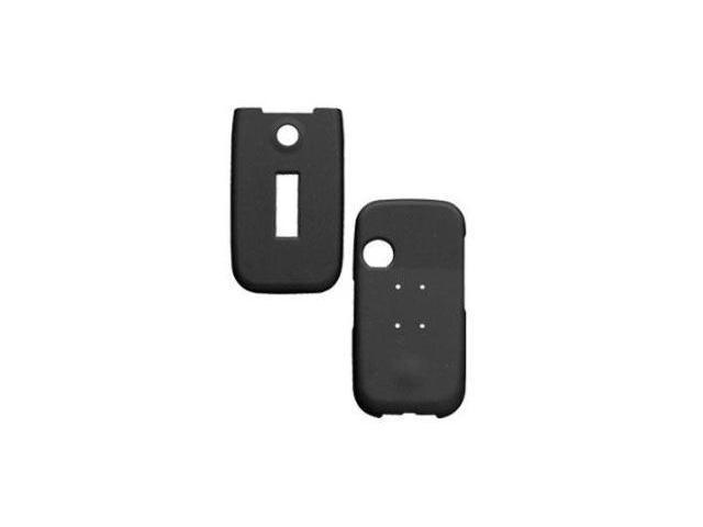 Fosmon Rubberized Hardshell Case for Sony Ericsson Z750A (Black)