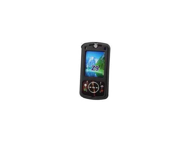 Fosmon Rubberized Hardshell Case for Motorola Z9 (Black)