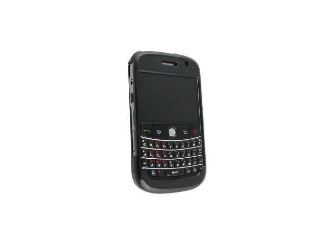 Fosmon Rubberized Hardshell Case for Blackberry Bold 9000 (Black)