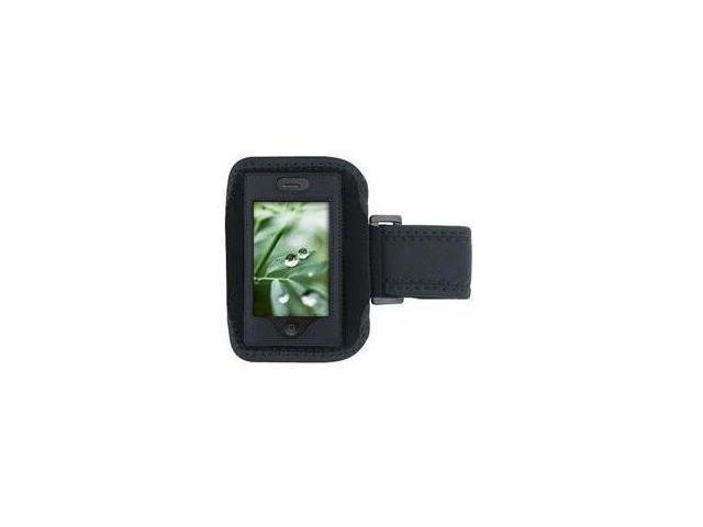 Fosmon Premium Quality Sports Armband for Apple iPhone 4 / iPhone 4S (Black)