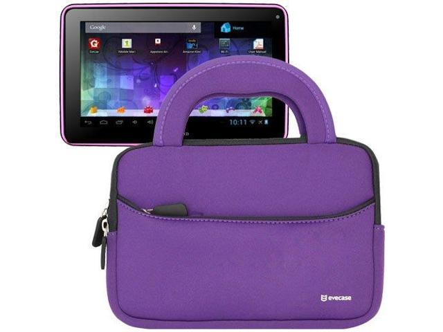 Evecase® Ultra-Portable Universal Neoprene Carrying Sleeve for Tablets such as Visual Land Prestige 7L - 7-Inch Tablet