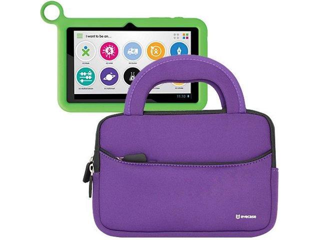 Evecase? Ultra-Portable Universal Neoprene Carrying Sleeve for Tablets such as OLPC XO 7-inch Kids Tablet XO-780 (Purple)