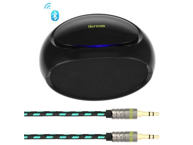 iKross Multi-Play Portable Wireless Bluetooth Stereo Speaker for iPhone, iPad, iPod, Samsung, Lenovo, Acer, Asus, LG, Dell, HP Tablet Chromebook ...