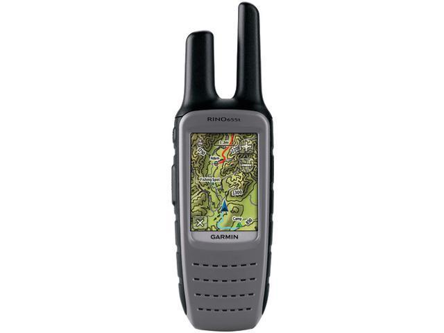 Garmin 010-00928-02 Rino 655t Gps Receiver Plus Frs/gmrs Radio