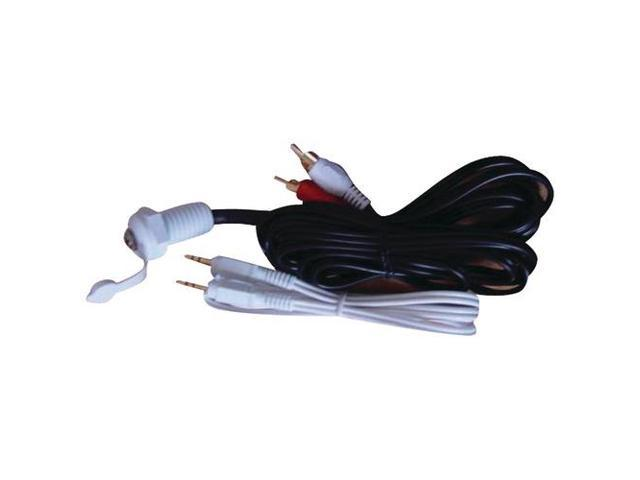 PYLE PLMRJPT 12-FT IPOD/MP3 WATERPROOF 3.5MM STEREO TO RCA ADAPTER
