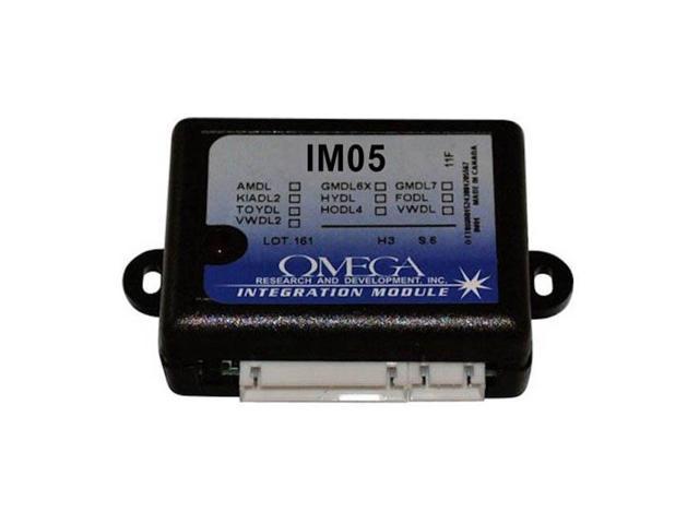 Upgradeable Transponder Data Override;Omega Research IM05