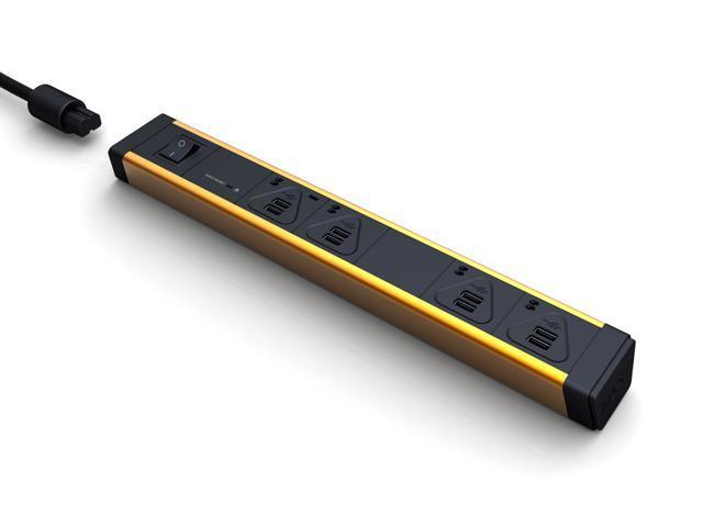 KBAR MULTIPLE 8 x 2.4A K-switch Surge (96W) USB CHARGER (Aluminum ORANGE)