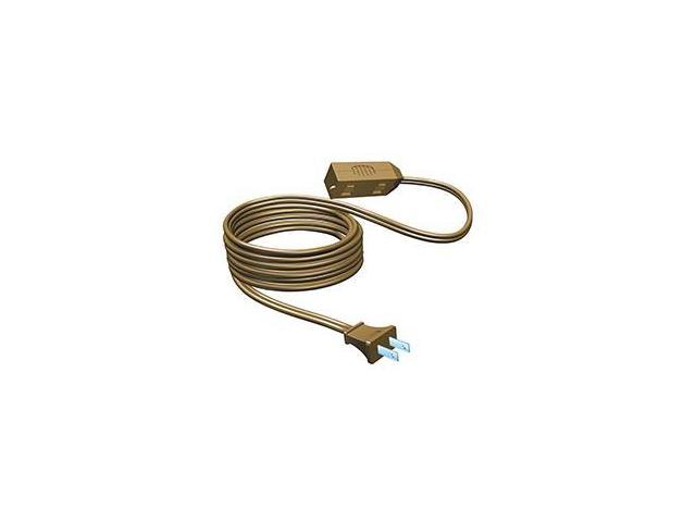 Westinghouse Brown 3-Outlet Indoor Extension Power Cord - 15'