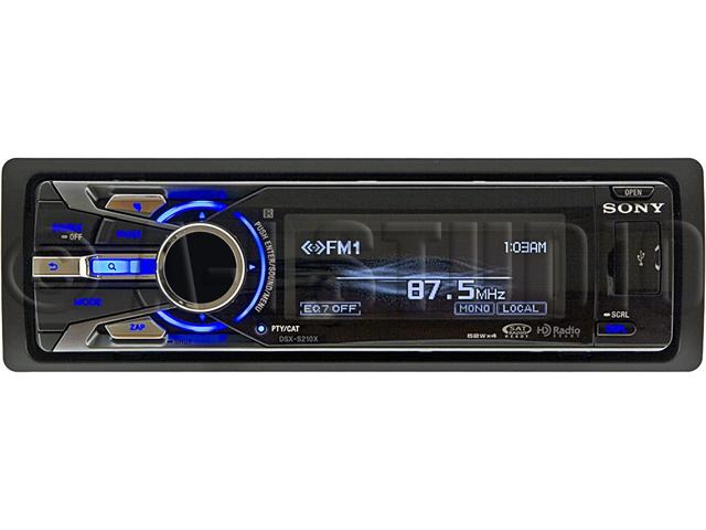 Sony DSX-S210X AM/FM Digital Media Stereo Receiver