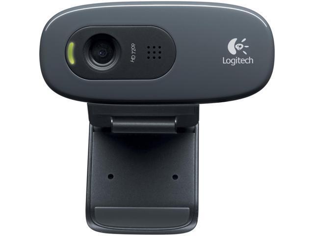 Logitech C270 Webcam - Black - USB 2.0