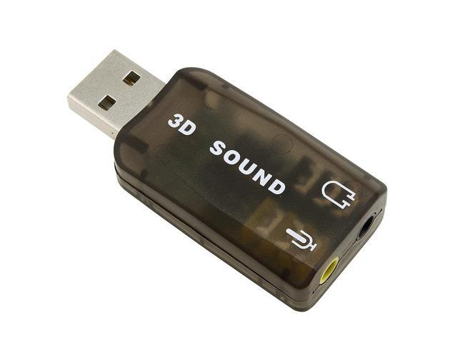 BasAcc USB Sound Card Adapter