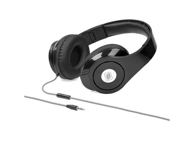 Delton Sonic Wave 1000 DJ Headphones Black