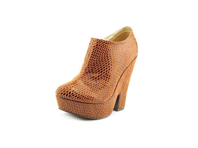 C Label Harri-7 Womens Size 6.5 Brown Booties Shoes