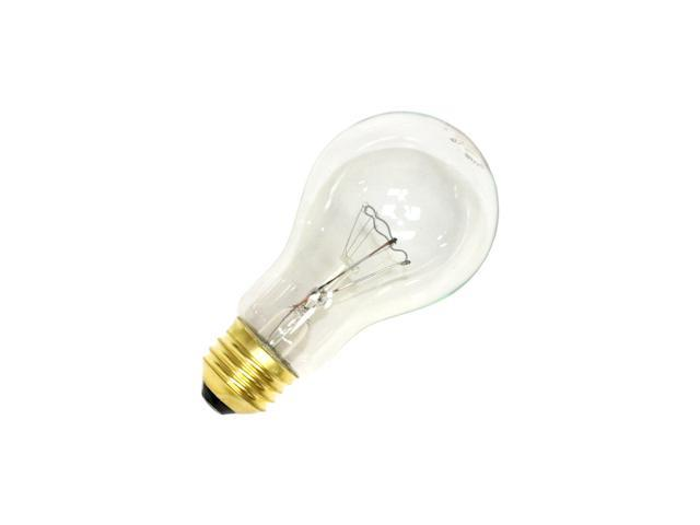 General 04027 - 40A/CL 240V E27BASE A19 Light Bulb