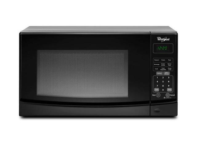 0.7 cu. ft. Countertop Microwave Oven with 700 Watts Cooking Power, 10 Power Levels, Electronic Child Lockout Feature and Removable Glass ...