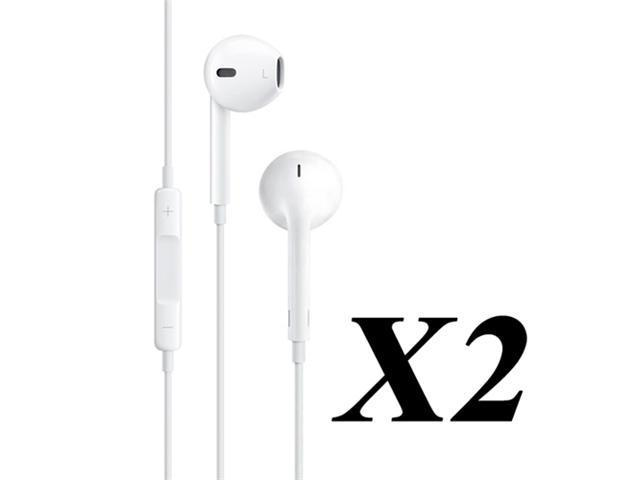 Gearonic Earphone with Mic and Remote (2 Pairs)