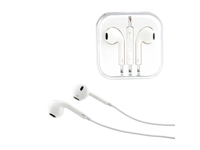 Gearonic ™ New 3.5mm Eearbud Earphone Headset Earpods for Apple iPhone 5 5S Mobile MP3 MP4 Tablet PC Laptop with Microphone - White