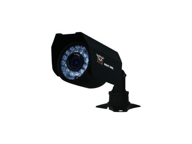 Night Owl CAM-CM01-245 400 TV Lines MAX Resolution Wired Color Camera with Vandal Proof 3-Axis Mounting Bracket and 60ft of Cable