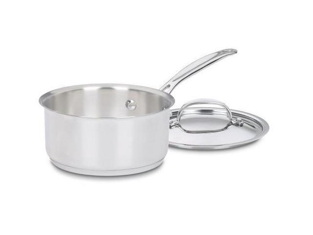 Cuisinart Chef's Classic Stainless 1 Quart Saucepan with Cover