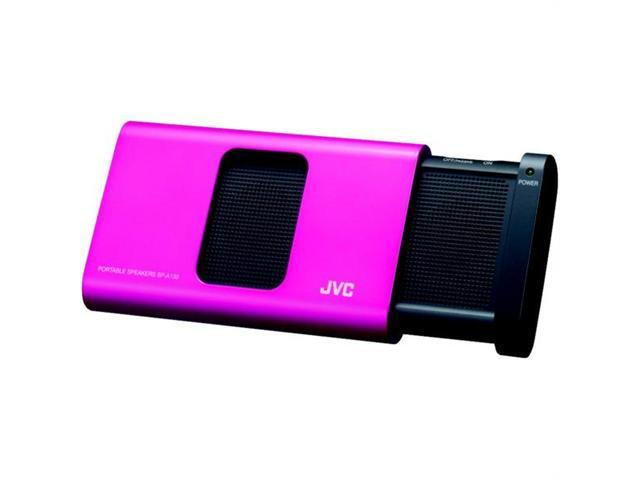 JVC SP-A130PN Portable Speaker System (Pink)