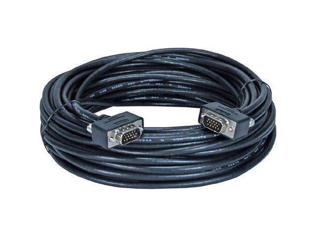 QVS CC388M1-200 Qvs 200' high-performance ultra-thin vga/qxga cable