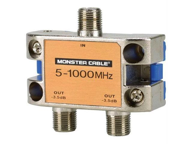 MONSTER CABLE SS2RF MKII Monster cable ss2rf mkii monster standard rf splitter for catv signals