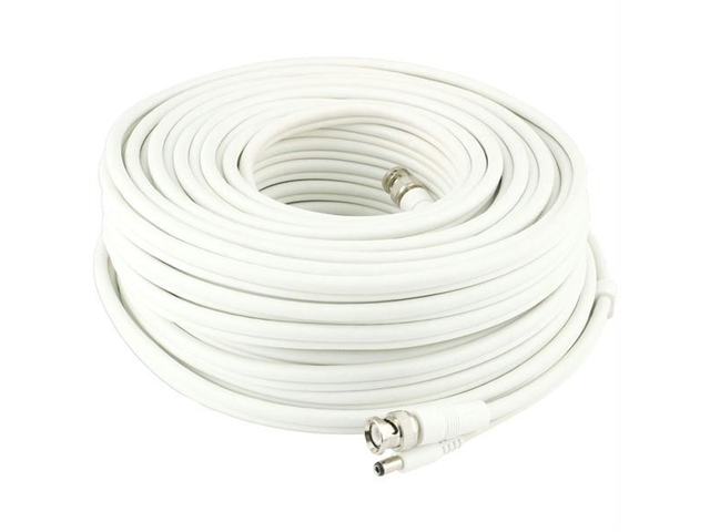 SWANN SWADS-91MBNC BNC to BNC Video & Power Extension Cable for CCTV Cameras (300 ft)