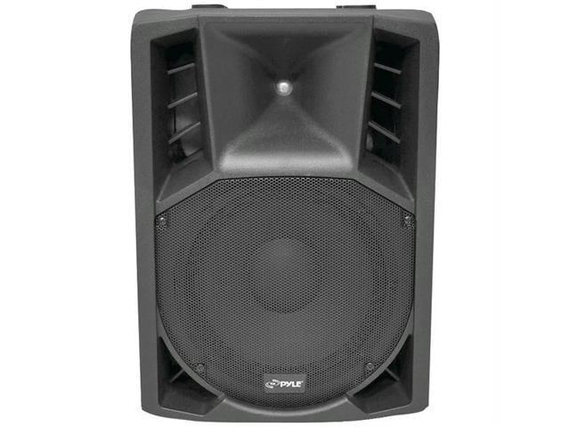 Pyle PPHP128AI 1200 Watt Powered 2 Way Full Range PA Speaker with built-in iPod Dock and Microphone