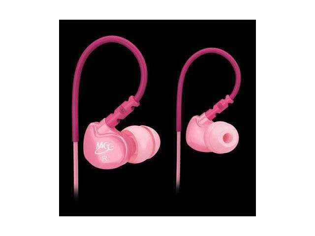 MEElectronics M6-PK-MEE Sport Noise-Isolating In-Ear Headphones with Memory Wire (Pink)