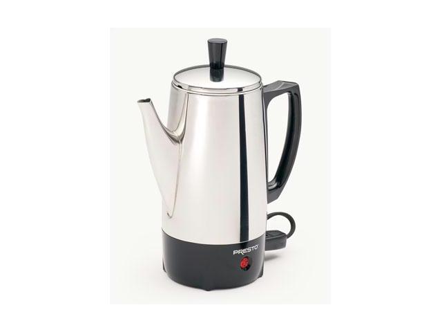 6 Cup Stainless Steel Perk
