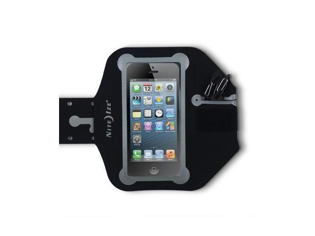 Nite Ize Action Armband for iPhone 4s 4 3gs & iPod Classic and Touch Devices Water Resistant Black