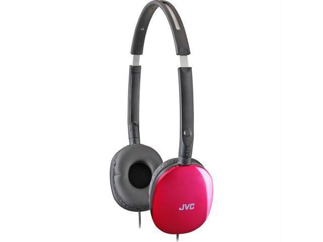 Pink FLATS Lightweight Folding Headphones