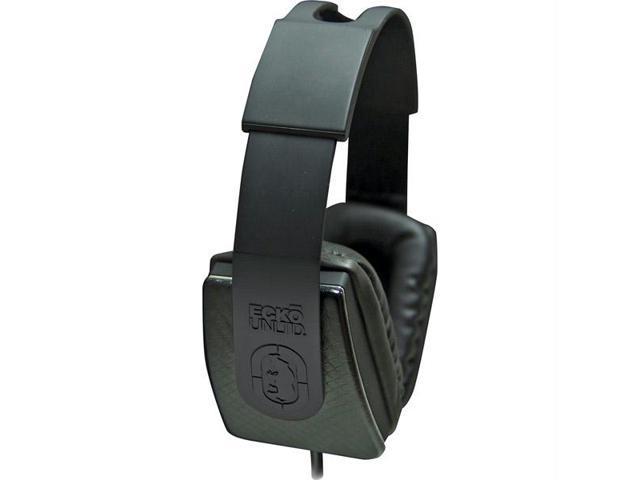 Lux Over-The-Ear Headphones With Mic And 1-Button Control-Black