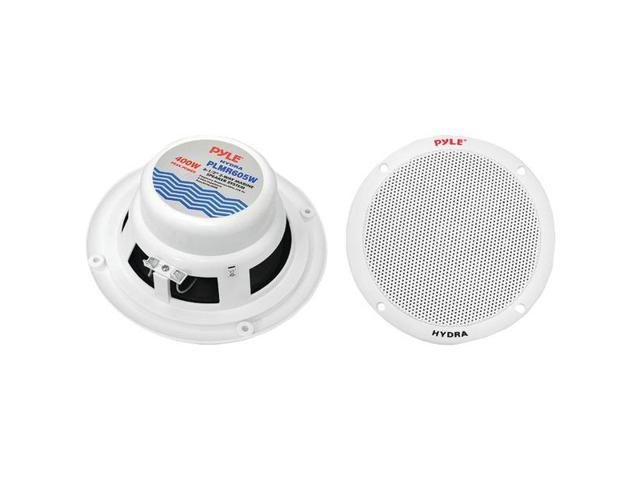 PYLE PLMR605W 6.5'' Dual Cone Marine Speakers (White)