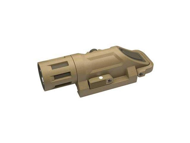 INFORCE Weapon Mounted Light White/Infrared Weaponlight Picatinny Sand Primary White LED: Constant Momentary High/Low