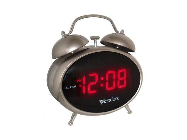 Twin Bell LED Alarm Clock