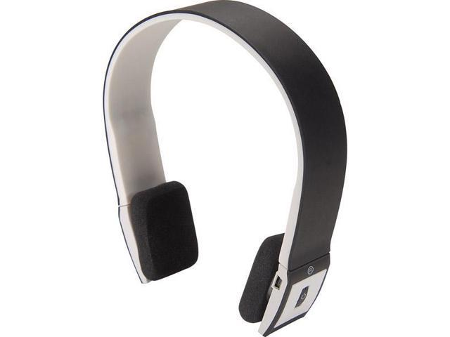 Wireless Stereo Bluetooth Headphones with Microphone - Black