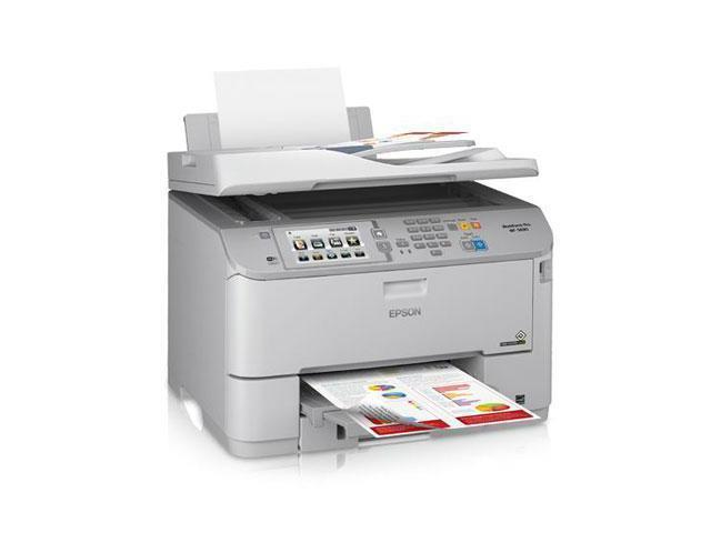 EPSON WorkForce C11CD14201 Up to 20 ppm Black Print Speed 4800 x 1200 dpi Color Print Quality Wi-Fi Direct MFP Color Network Color Inkjet ...