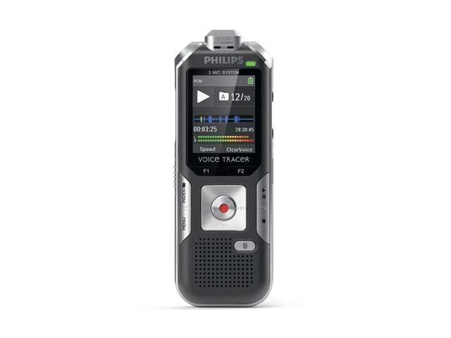 Philips Voice Tracer DVT6000 4GB Digital Voice Recorder