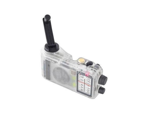 Sangean Multi-Powered FM / AM Radio Receiver - ClearMMR77CL