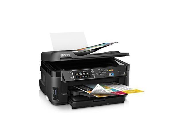 Epson WorkForce WF-7610 4800 x 2400 dpi USB/Wireless All-in-One Inkjet Printer