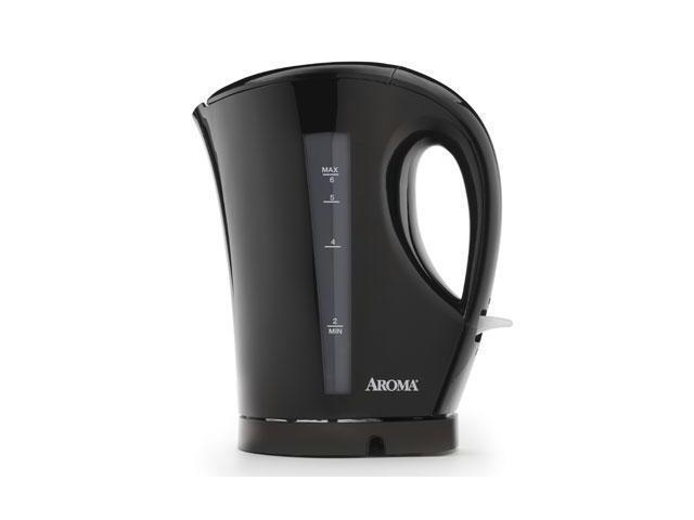 AROMA AWK-109B Black 1.5 Liter (6-Cup) Cordless Electric Water Kettle