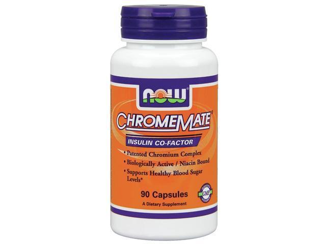 Chromemate 200mcg - Now Foods - 90 - Capsule