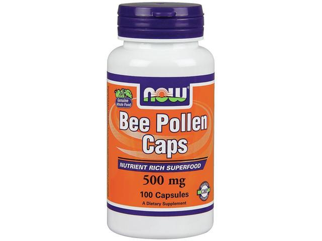Bee Pollen 500mg - Now Foods - 100 - Capsule